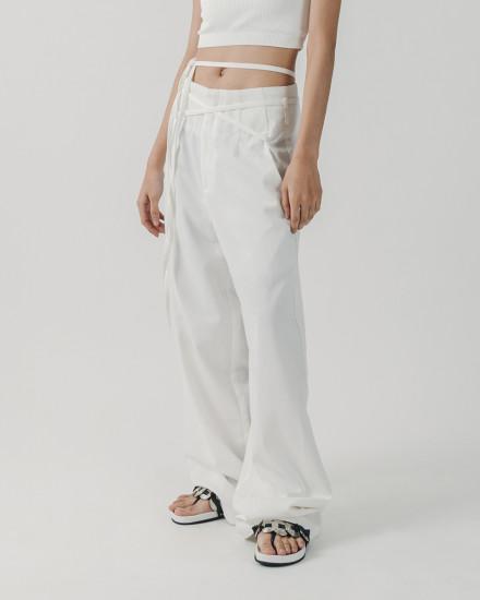 Highwaisted wide leg pants