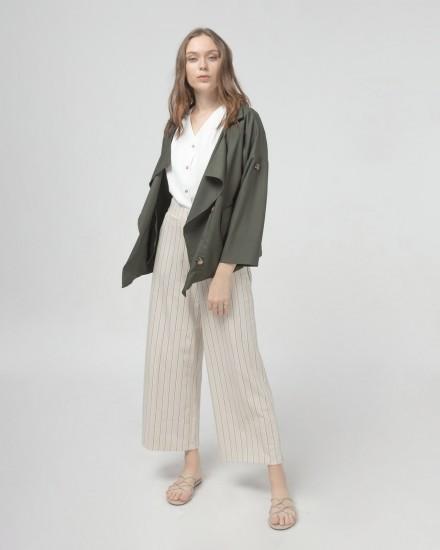 Overlap outerwear