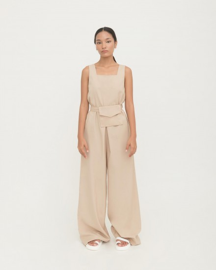 Gail belt Jumpsuit