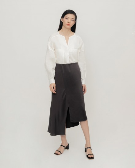 Giana Sateen skirt