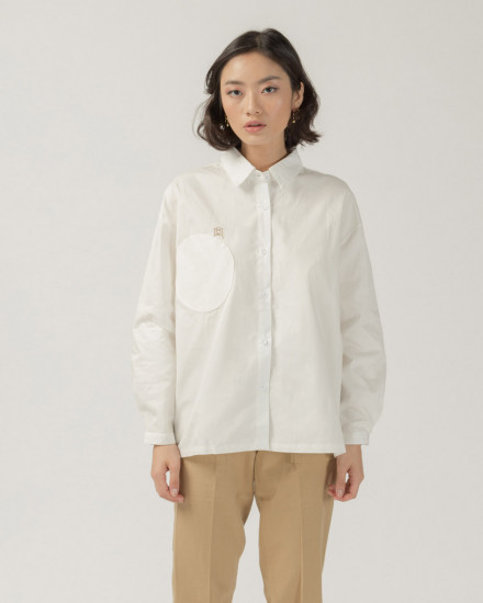 Mokky round pocket shirt