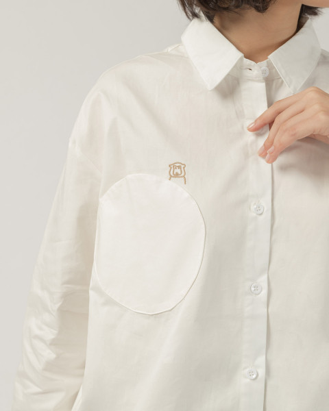Mokky round pocket shirt