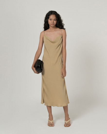 Midia sateen dress