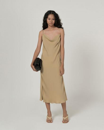 Midia sateen dress