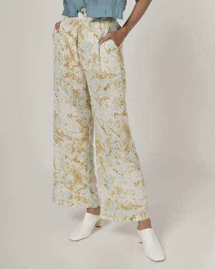 Saga Abstract pants
