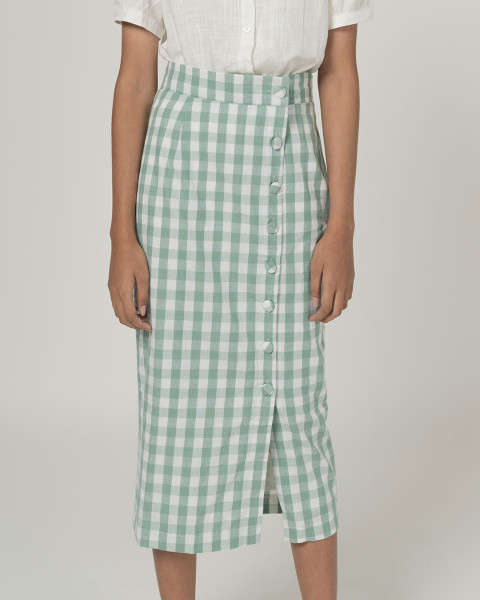 Lany plaid skirt