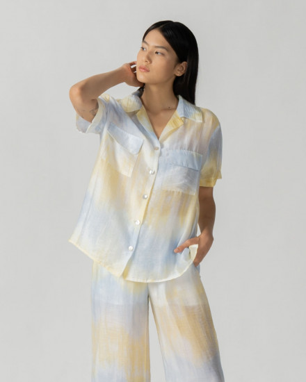 Savira Gradient top