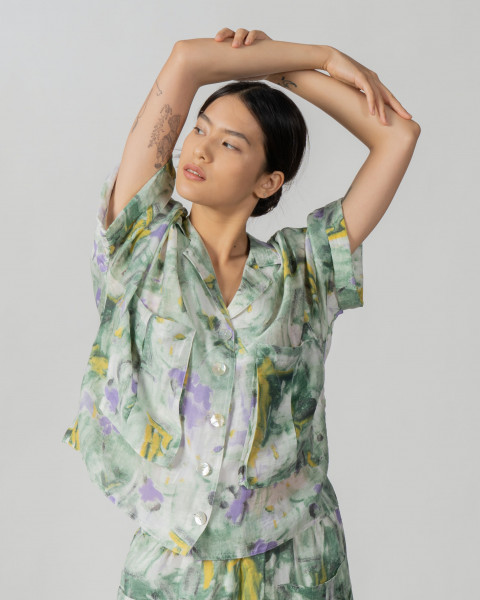 Bella Printed shirt