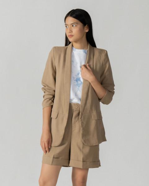Faya Ruched blazer